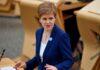 Scotland's First Minister, Nicola Sturgeon